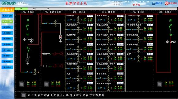 通电表分析单按钮启停电路图